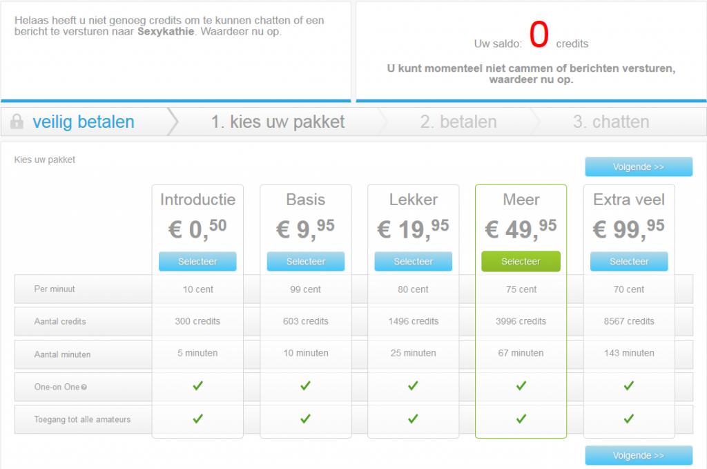 islive betaalpagina screenshot