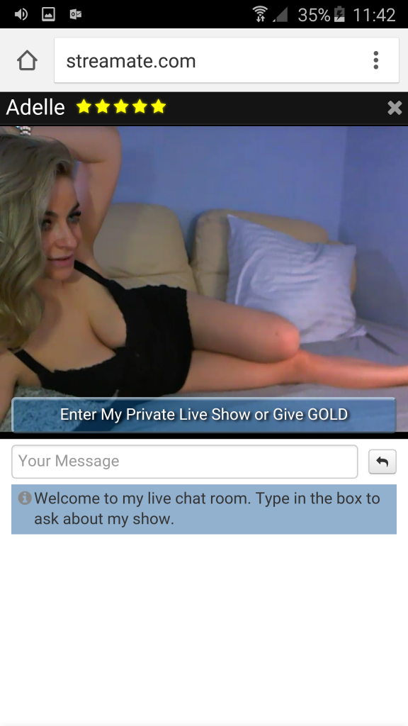 mobile chat streamate